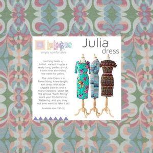 New LULAROE Marble Geometric Print Julia Dress A5